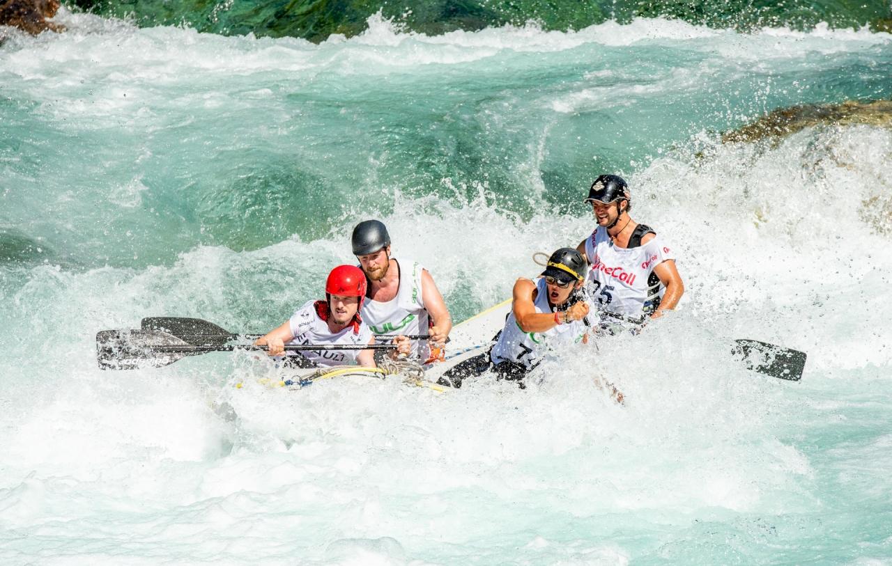 Rafting y Descenso de Canoas en el Sella